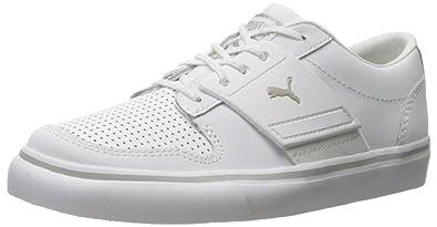 Puma El Ace 2 Ps, Baskets mode pour garçon White/Gray Violet - blanc White/Gray Viol,