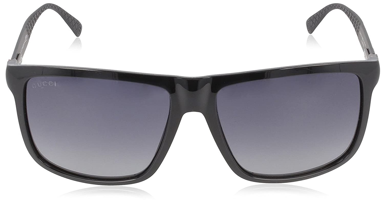 Gucci GG 1075/S GG 1075/S Gafas de sol, Wayfarer, 57, Shiny Matte ...