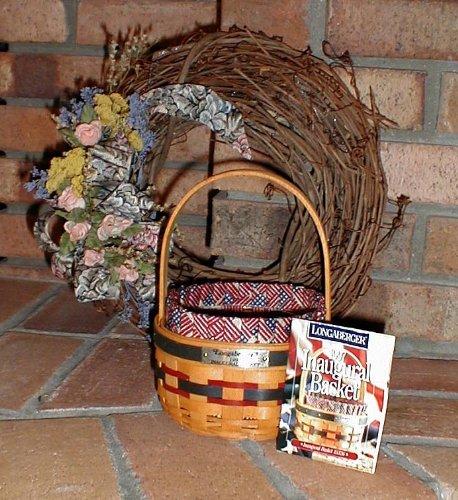 LONGABERGER 1997 AMERICAN INAUGURAL BASKET COMBO (Longaberger Baskets Pottery)
