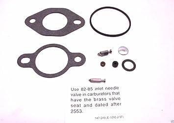 Amazon.com: Kohler 12 757 01-S Carburetor Repair Kit: Automotive