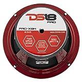 "DS18 PRO-X8M Loudspeaker - 8"", Midrange, Red"