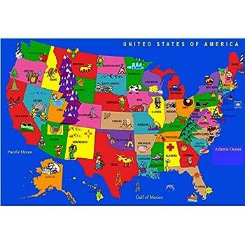 Amazon Com Koeckritz Rugs Kids Educational United States
