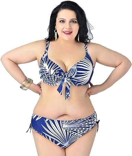 Td Bikini Bikini Sexy Talla Grande Traje De Bano Pecho Grande Ropa De Playa Banador Mujer Bikini Color 2 Tamano Xxl Amazon Es Deportes Y Aire Libre
