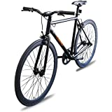Fixer Bike Road Bike Fixed Gear Alumium Alloy Urban Bike Flip Flop Hub City Bike Riser Bar 700c 54cm Single Speed