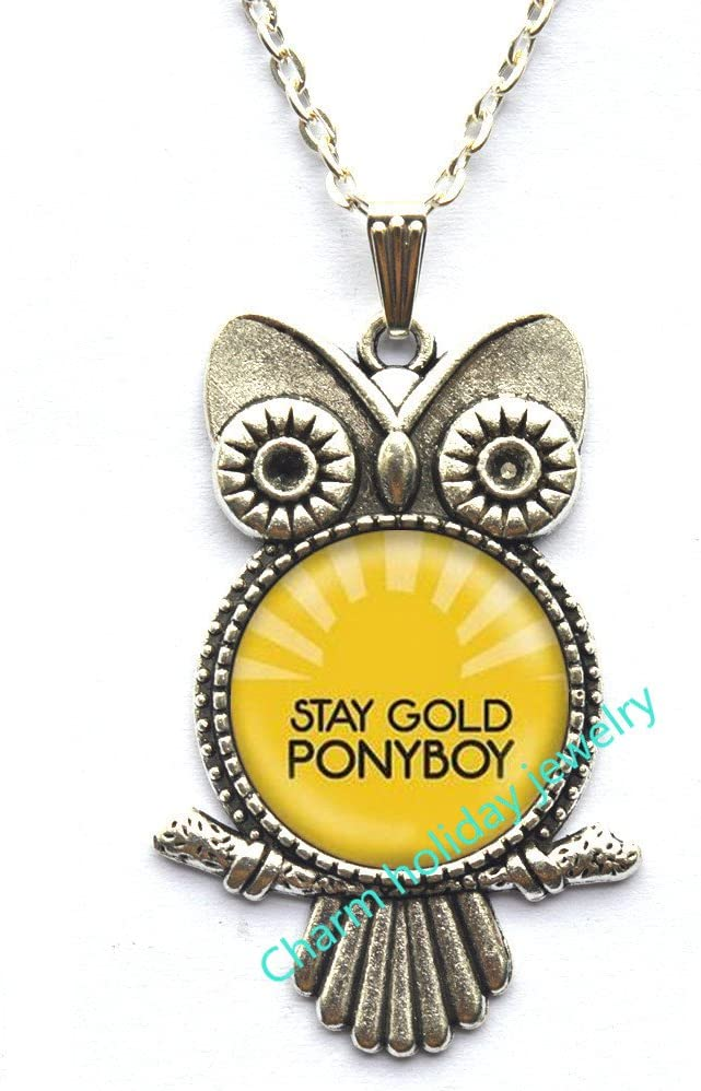 com stay gold ponyboy owl necklace stay gold jewelry the