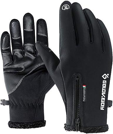 Jeniulet 100% Waterproof Winter Gloves