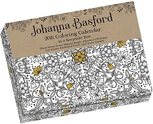 Johanna Basford 2018 Coloring Day-to-Day Calendar