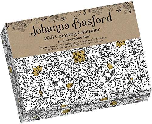 Johanna Basford 2018 Coloring Calendar Amazonin Office Products
