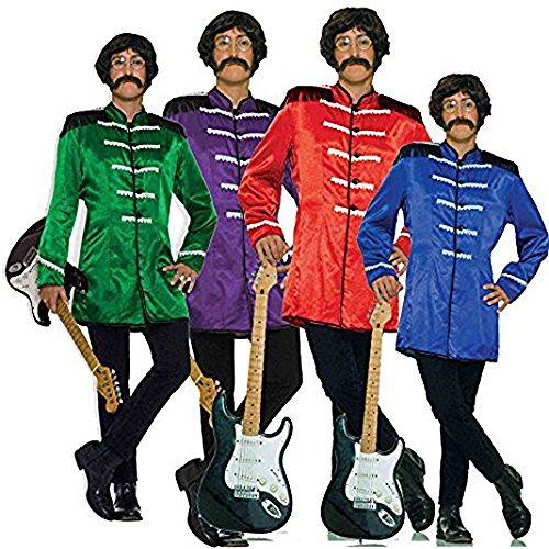 FutureMem Sergeant Peppers Beatles Costume Set -