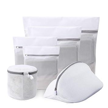 lattcure 6 pieza Ropa Red para lavadora, Premium - Bolsa para ...