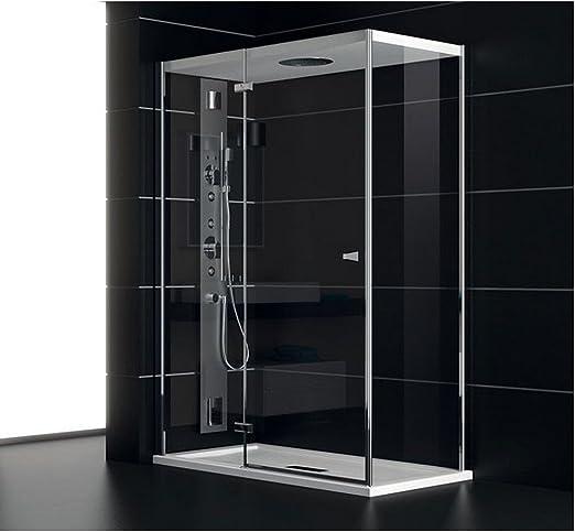 TEUCO Box Ducha Puerta batiente 120 x 80 cm Art. nc8b6 Chapeau ...
