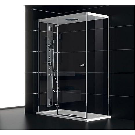TEUCO Box doccia porta battente 120x80cm Art. NC8B6 Chapeau ...