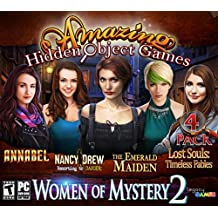 Women of Mystery 2: Amazing Hidden Object Games (4 Game Pack)