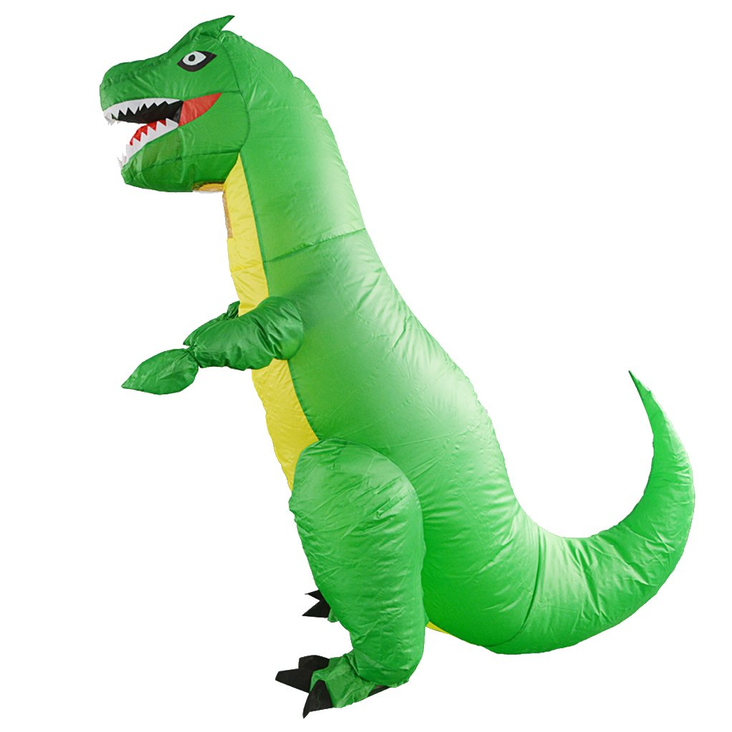 Amazon.com: SM SunniMix Adult Inflatable T-REX Dinosaur ...
