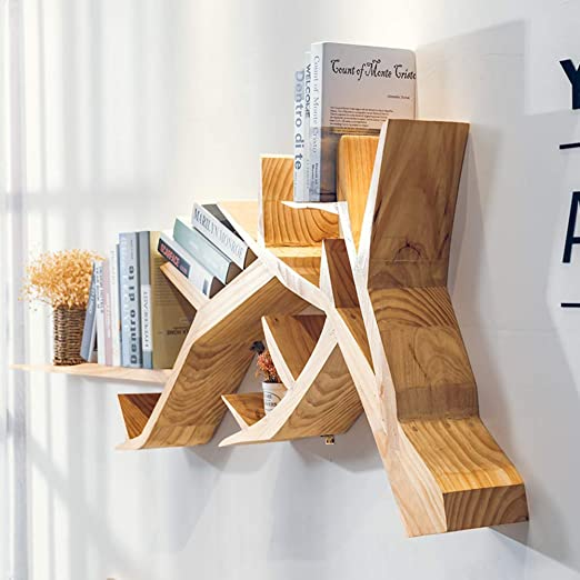 Admir Creativo árbol En Parama De Estantería para Libros ...