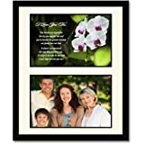Stepmother Gift - Stepmom Poem in Matted Frame for Her Birthday or Mother's Day - Add Photo