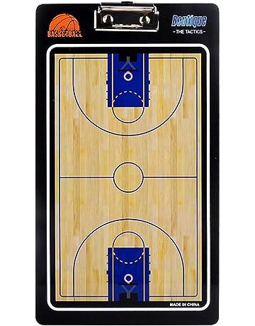 LIOOBO Tablero de Entrenamiento de Baloncesto Pizarra de borrado en seco  Portapapeles de Doble Cara para 43121c198c830