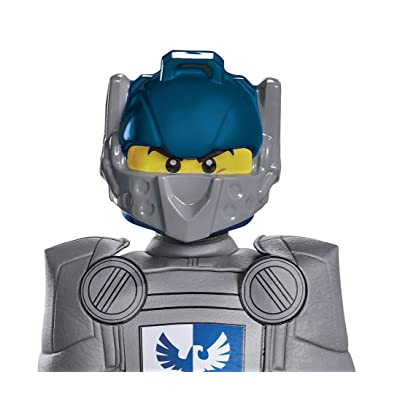 Clay Lego Nexo Knights Lego Mask, One Size Child: Toys & Games