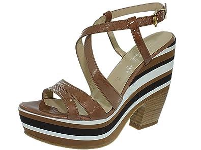 Elizabeth Stuart d34stuart001 camel - Chaussures Sandale Femme