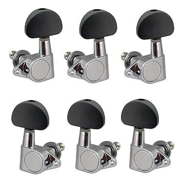Homyl 3L3R Clavijas de Afinación Machine Heads Accesorios para Guitarra Acústica Eléctrica: Amazon.es: Instrumentos musicales