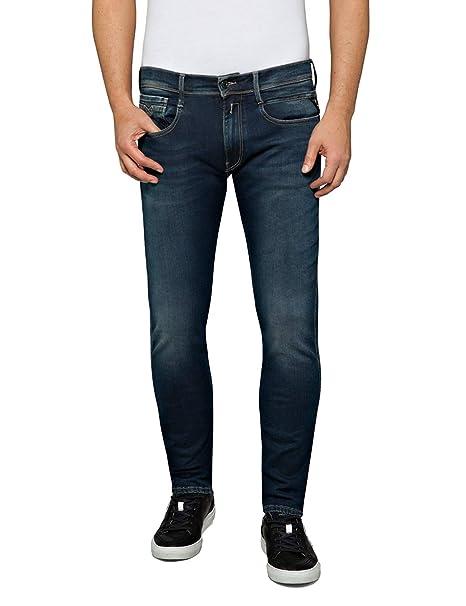 REPLAY Anbass Jeans Slim Uomo