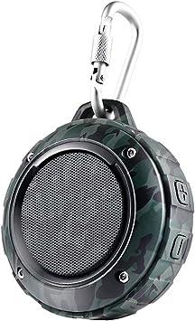 Outdoor Waterproof Bluetooth Speaker,Kunodi Wireless Portable Mini Shower...