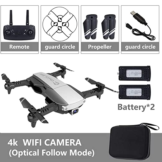 ACHICOO Pro 5G - Dron Selfie WiFi con cámara Dual 4K HD: Amazon.es ...