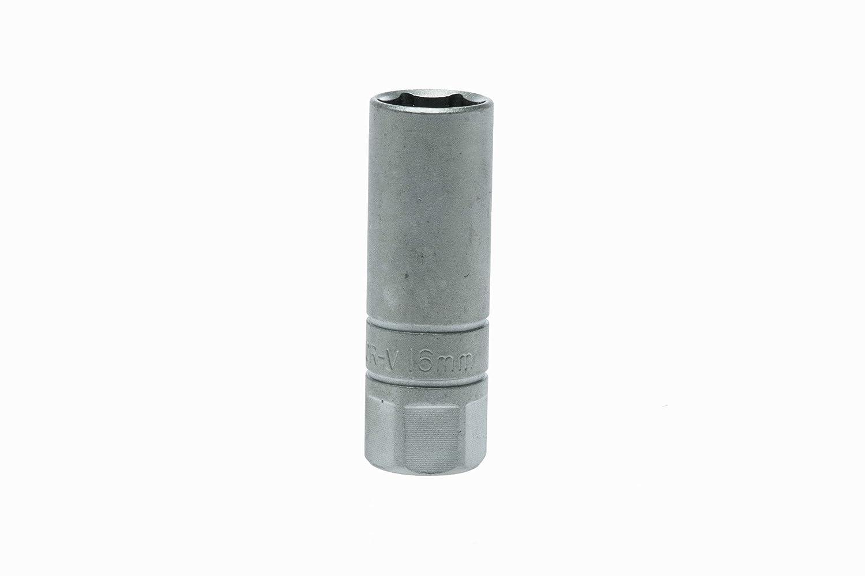 Teng M.Rosso M120040c Spark Plug Socket 16mm 1//2 Square Drive