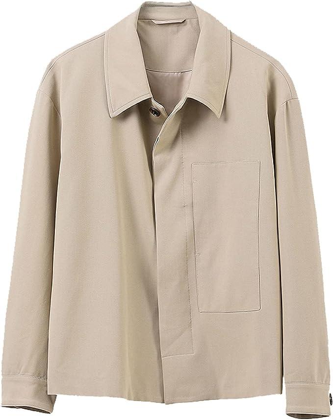 ジャケット デニム ジャケット メンズ 春 ゆったり ジージャン ジャケット シンプル 無地 アウター 軽量 かっこいい 細身 ミリタリー コート 上着 大きいサイズ かっこいい 紳士 デイリー