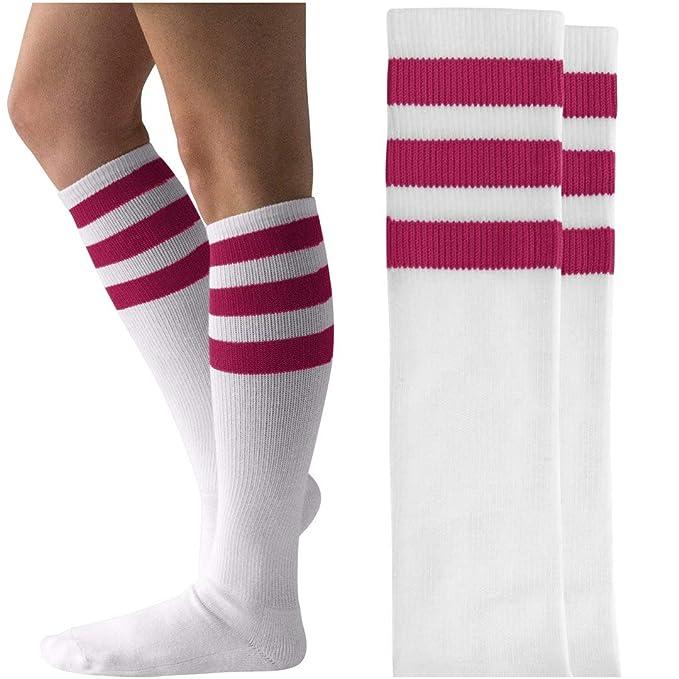 a87c1436d Amazon.com  Eleven Halloween Costume Socks  Unisex Striped Knee-High Socks   Clothing