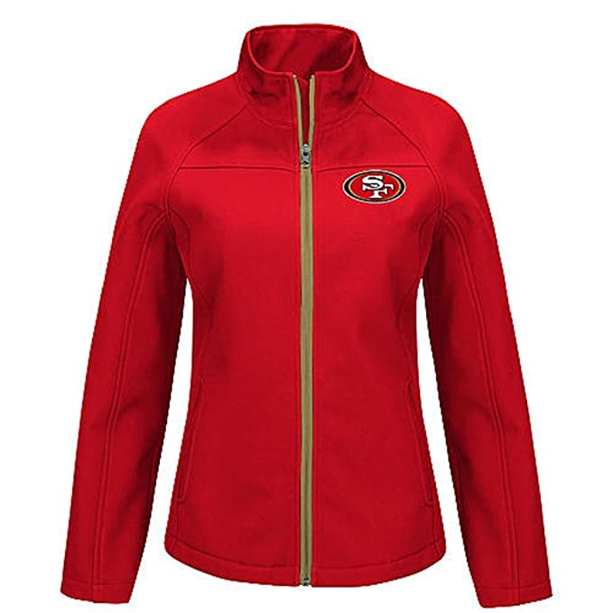 best sneakers 131ba dd6d7 Women's Jacket -San Francisco 49ers Size Small at Amazon ...