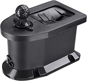 AW Universal Golf Club and Ball Washer Cleaner Golf Cart Pre-Drilled Mount Compatible with E-Z-GO Club Car