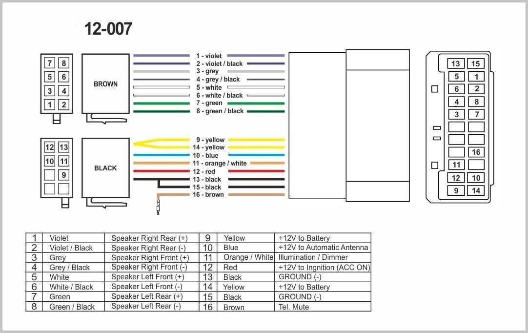 autostereo 12–007estándar iso Cableado Radio para Chrysler Car Audio installtion Cable 2001+ jeep 2002 Autostereo TECH