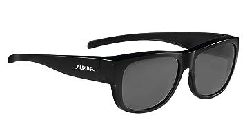 Alpina Overview II P Fahrradbrille BLACK MATT ONE SIZE mgZSgh