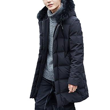 Winter Jacket Men Natural F-ox f-ur Collar Coat 90% Down Jacket