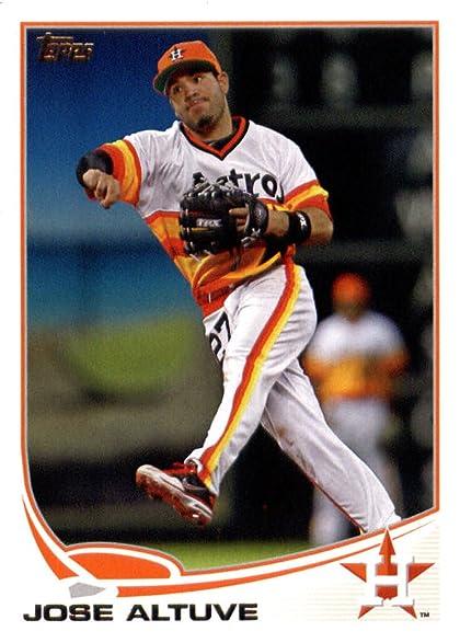 2013 Topps Baseball Card 227 Jose Altuve Houston Astros At