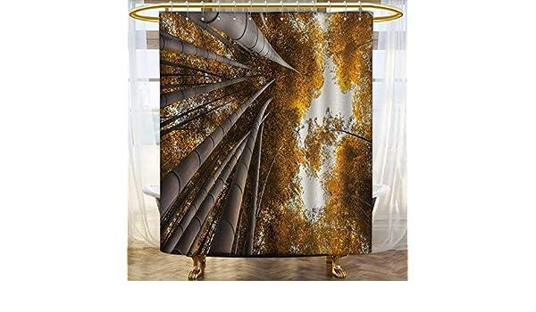 VAMIX Colección de Cortinas de Ducha de bambú por Illustration of ...