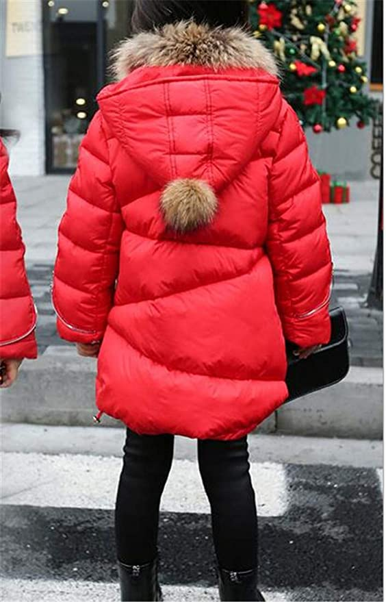 GloryA Girl Warm Fashion Hooded Quilted Fit Cute Parkas Coats