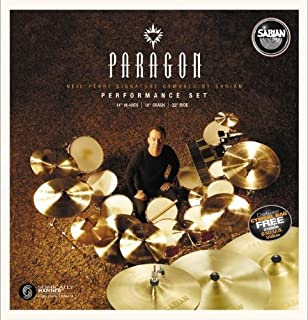 Amazon Com Sabian Paragon Neil Peart Complete Cymbal Set With