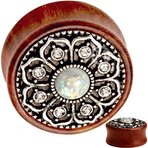 0 gauges Plugs Tunnels 00 Ear gauges Wood Steel Double Flared tapers Screw Stretching 1 inch 25mm