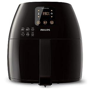 Philips HD9240/94 Avance XL Digital Airfryer (2.65lb/3.5qt), Black Fryer (Renewed)
