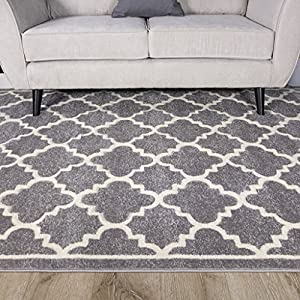 living room rugs uk light grey silver geometric trellis fish net design living 17036