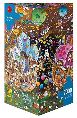 Heye The Kiss 2000 Piece Guillermo Mordillo Jigsaw Puzzle