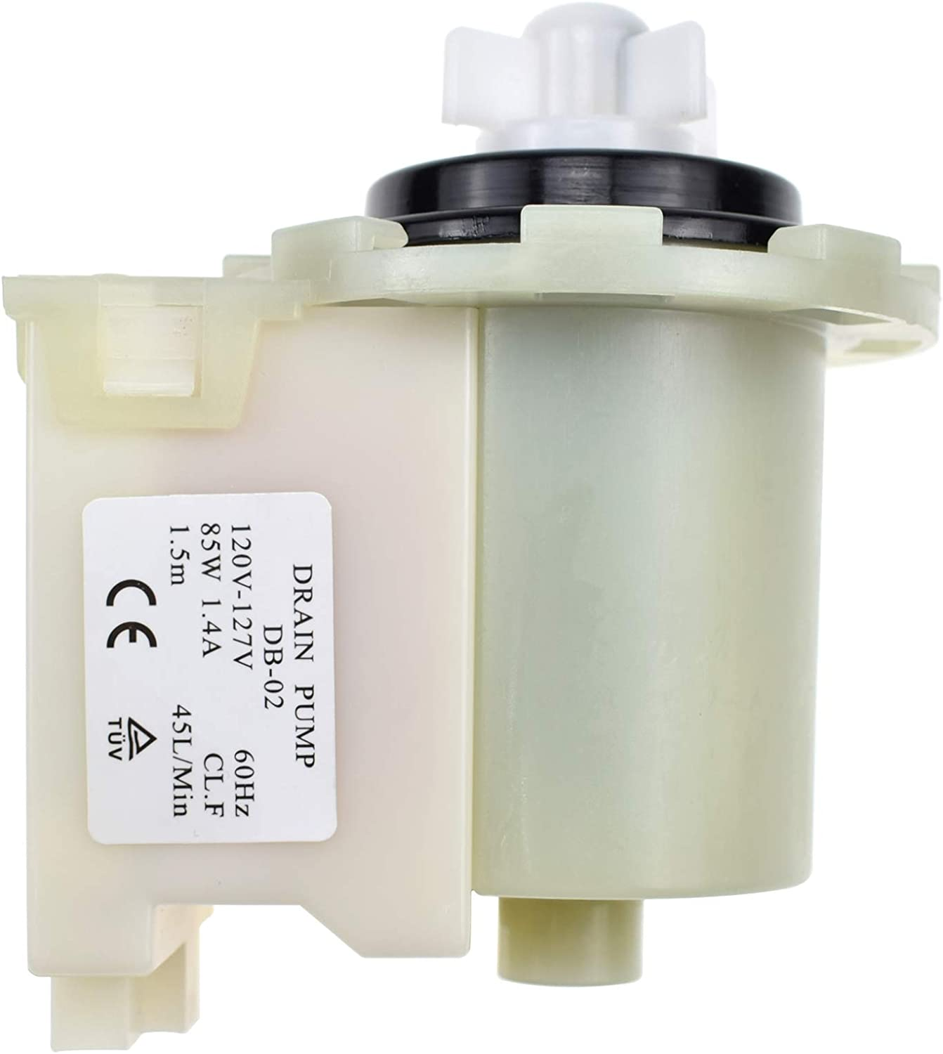 W10130913 Washer Drain Pump Replacement Compatible with Whirlpool Kenmore Washing Machine W10730972 8540024 Replacement
