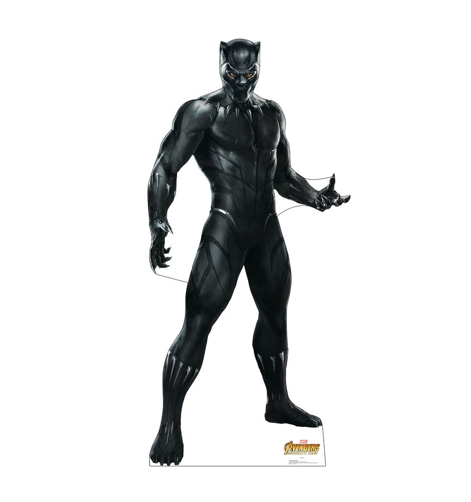 Black Panther - Marvel's Avengers: Infinity War (2018 Film) - Advanced Graphics Life Size Cardboard Cutout Standup by Advanced Graphics