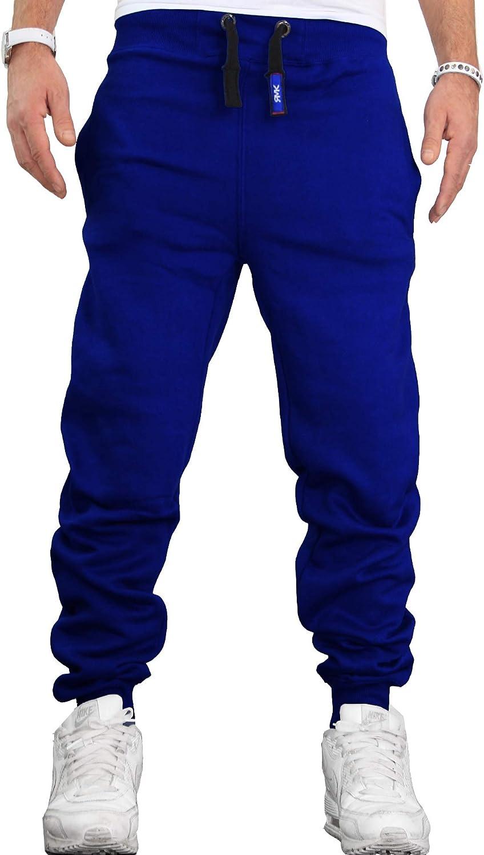 RMK Herren Hose Jogginghose Trainingshose Sporthose Fitnesshose Sweatpants Uni Einfarbig H.02H.02