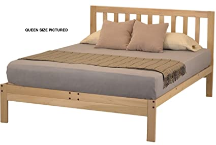 KD Frames Charleston 2 Platform Bed   Queen.