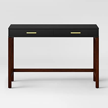 Wonderful Guthrie Two Tone Desk Matte Black