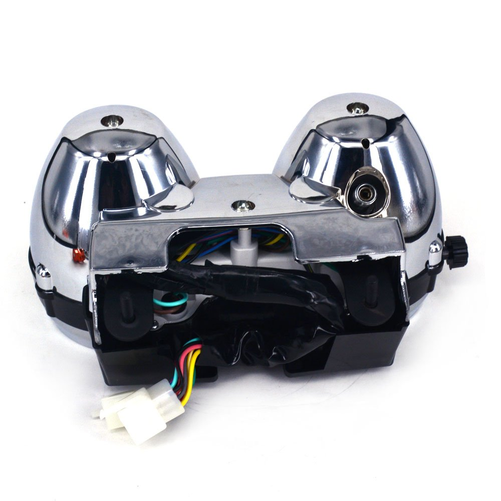 Motorcycle Speedometer Tachometer Odometer Gauge Cluster Meter For Kawasaki ZRX400 ZRX750 ZRX1100 1998 1999 2000 2001 2002 2003 2004 2005 2006 2007 2008-180 Version