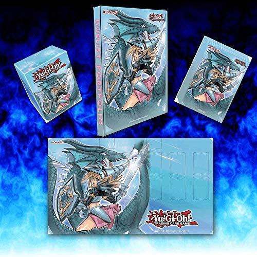 YuGiOh Dark Magician Girl The Dragon Knight Accessories Bundle